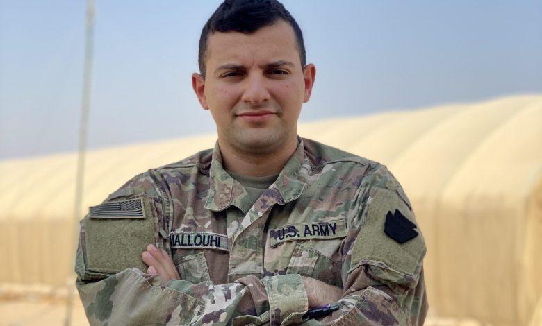 scaled - فادي ملوحي غادر سوريا طفلاً وعاد إليها مقاتلاً في الجيش الأميركي شرق الفرات