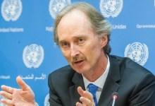 """صورة في الرياض.. """"بيدرسن"""": بحثنا سُبل تنفيذ قرار """"مجلس الأمن"""" في سوريا"""