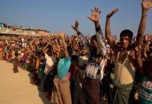 صورة رغم التحذيرات.. بنغلاديش تبدأ إرسال آلاف الروهينغيا إلى جزيرة معزولة