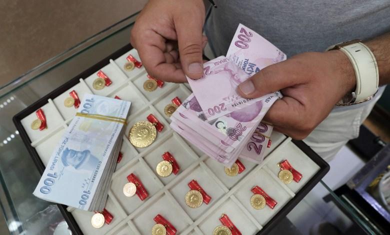 سعر الذهب وسعر صرف الليرة التركية والليرة