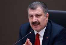 """صورة وزير الحكومة التركية """"فخر الدين كوجة"""" يزف بشرة سارة بشأن وباء كورونا في تركيا"""