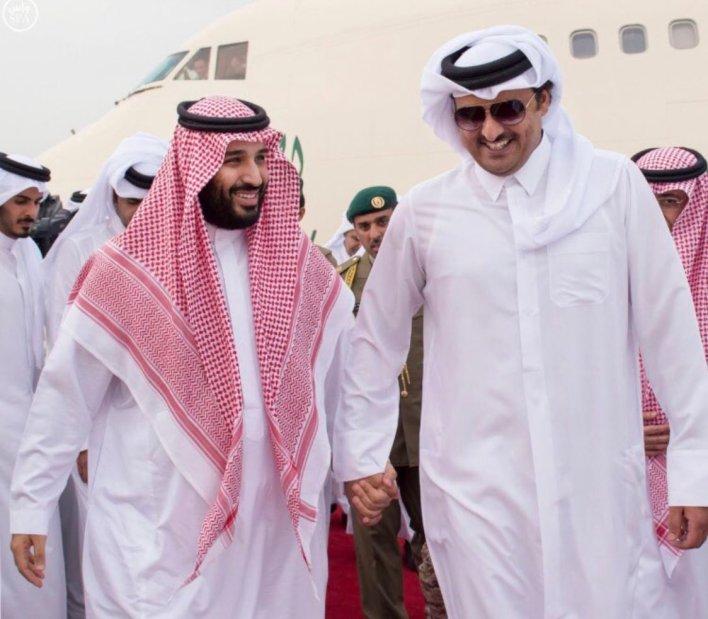 "Eq7nqp8WMAIoWdo - احتفاء شعبي في الخليج ومصر بـ ""المصالحة الخليجية"""