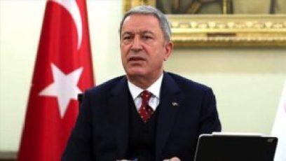 الدفاع التركي 300x169 - وزير الدفاع التركي يتحدث عن اتفاق مع روسيا في سوريا