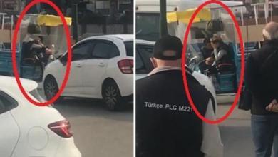 صورة شاهد.. فتاة تركية تتعرض للعنف وسط شوارع بورصة
