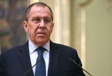 صورة لافروف يوجه نداءً للدول العربية بشأن نظام الأسد من مصر.. إليكم التفاصيل