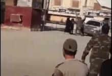 صورة فيديو.. سيدتان تم ضبـ .ـطهما بإحدى نقاط قوات الجيش التركي محملتين بأحزمة ناسـ .ـفة بمدينة عفرين