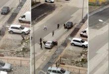 صورة شاهد بالفيديو..  شـ.ـجار مسلـ.ـح بين سوريين في شوارع أنقرة