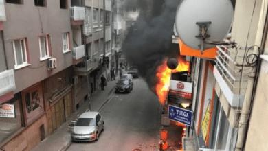 صورة شاهد بالفيديو.. رجل مجهول الهوية يشـ.ـعل حريـ.ـقا في أحد الدكاكين والشـ.ـرطة التركية تبدأ بالتحرك