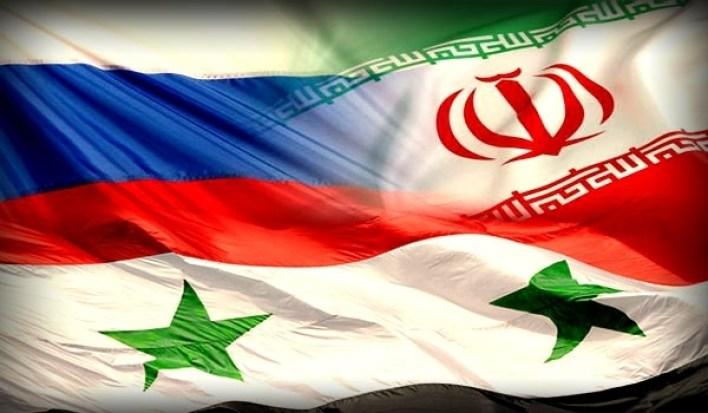 روسيا ايران سوريا
