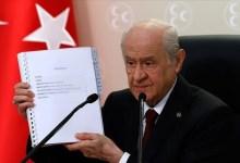 صورة دولت باهتشلي يعلن عن دستور جديد في تركيا..إليك التفاصيل