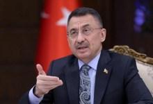 صورة نائب الرئيس التركي يشـ.ـن هجـ.ـوم كلامي على دولة إسرائيل