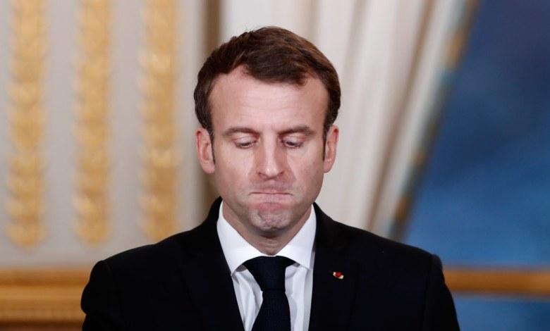 GettyImages 1074320584 1160x773 1 - شاهد بالفيديو لحظة صفـ.ـع ماكرون بالكف على وجهه من قبل مواطن فرنسي