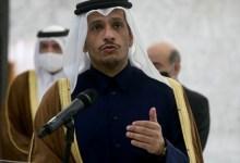 صورة وزير الخارجية القطري يتحدث عن  إعادة العلاقات مع نظام الأسد في حال تنفيذ شـ.رط محدد