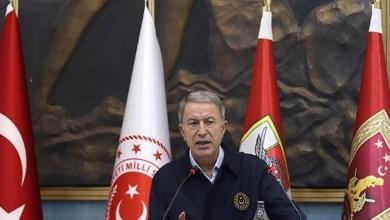 صورة وزير الدفـ.ـاع التركي يتحرك ويصل لسوريا..إليك التفاصيل