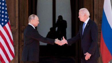 """صورة مباحثات مفصلية بين روسيا وأمريكا بشأن سوريا تحت عنوان """"مناقشة تفاصيل الحل النهائي"""""""