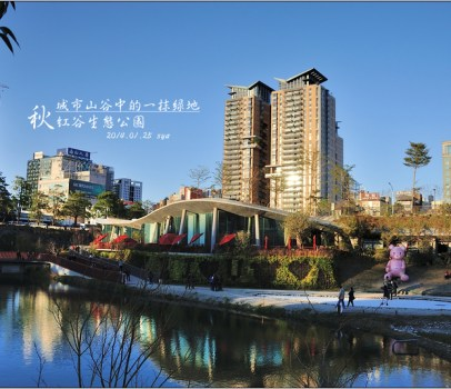 【台中 景點】 秋紅谷生態公園 | 城市山谷中的一抹綠地