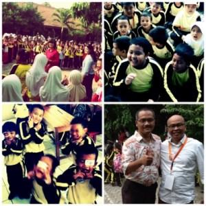Kelas Inpsirasi di SDN Kayuringin Bekasi (foto:Syaifuddin)