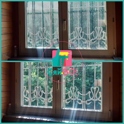 сезонне миття вікон