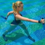 水中ウォーキングのダイエット効果と歩き方!動画