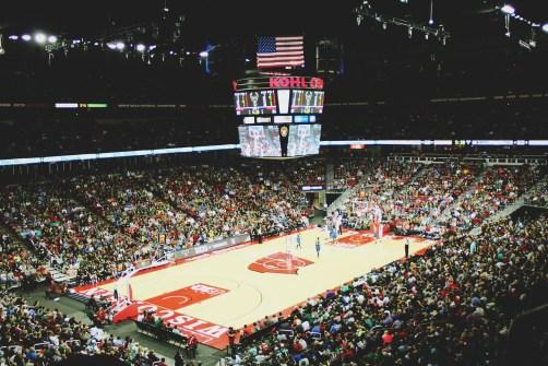 Watched the NBA pre-season match between Milwaukee Bucks and Minnesota Timberwolves