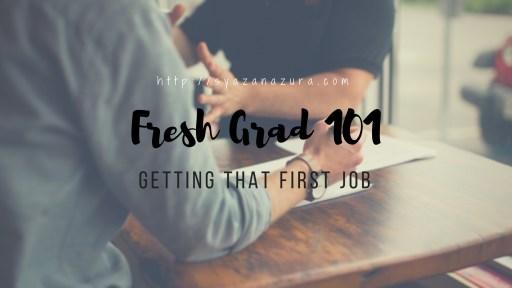 Fresh graduate job