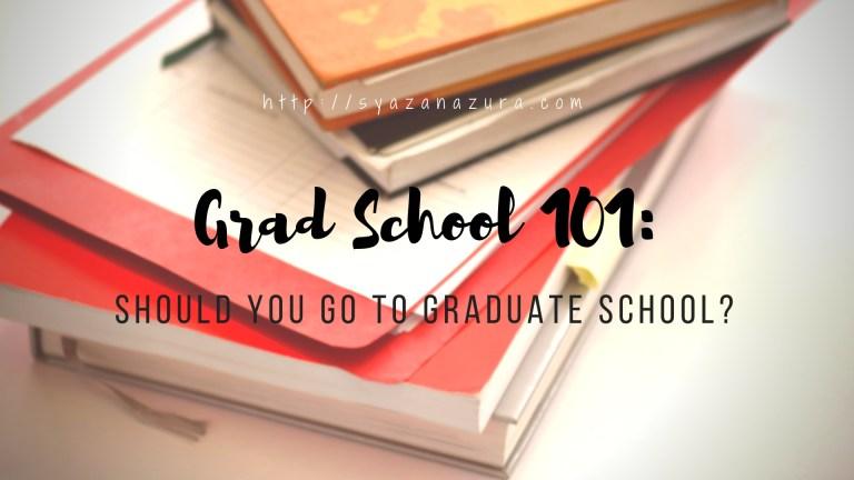 Should You Go To Graduate School?