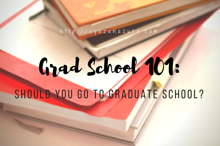Should You Go To Graduate School?
