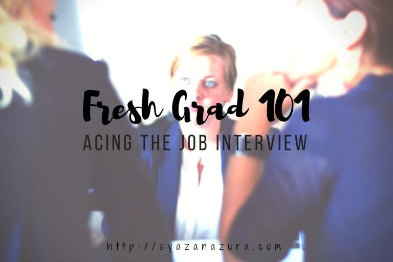 acing the job interview