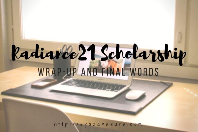 Radiance21 Scholarship