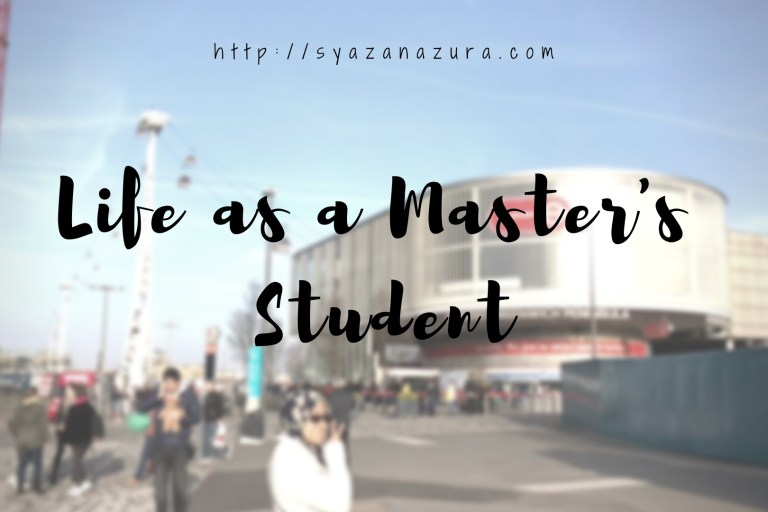 life as a master's student