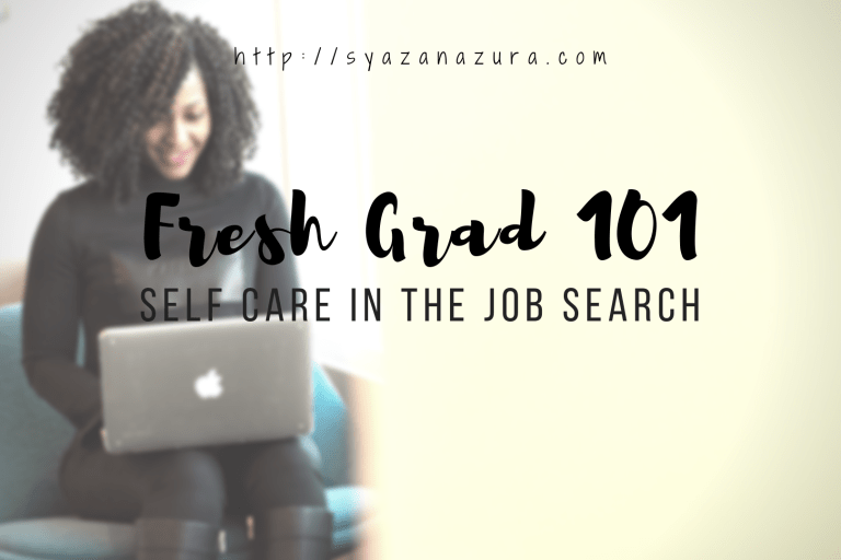 self care job search syaza nazura