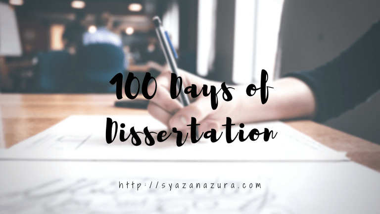 100 Days of Dissertation