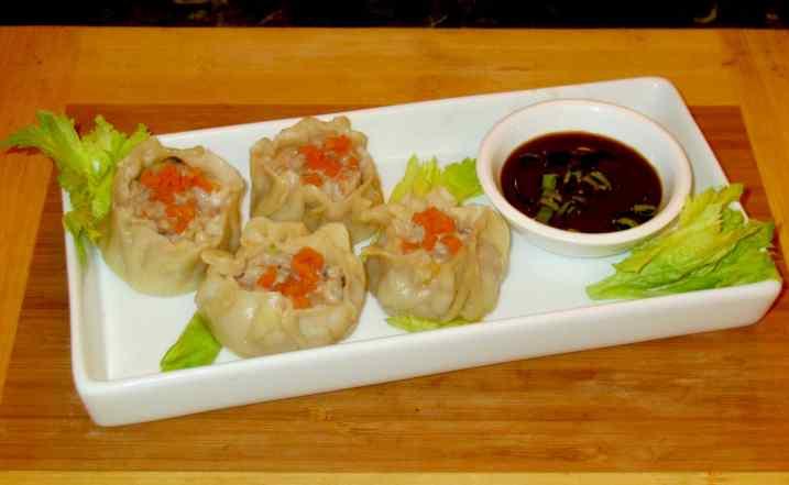 Shu Mai with Pork and Shrimp Sybaritica
