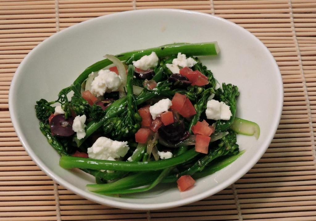 Greek-Style Broccolini Salad