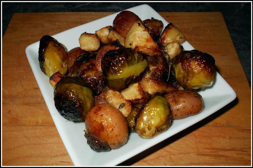 Char-Roasted Brussel Sprouts