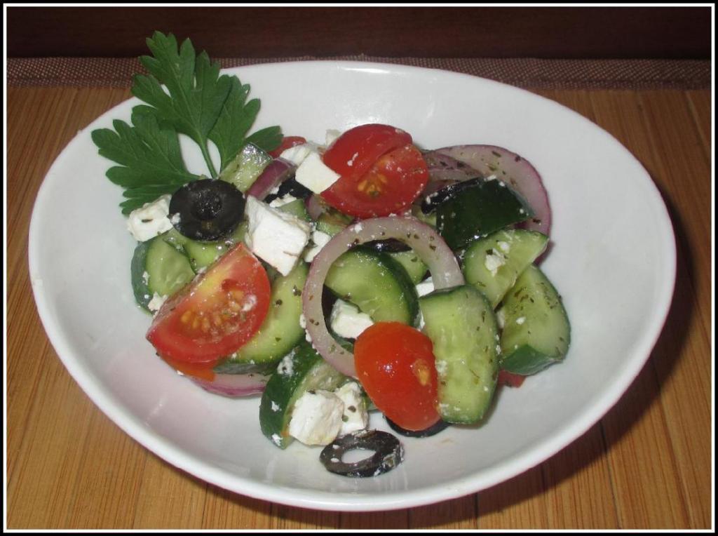 A 'True' Greek Salad