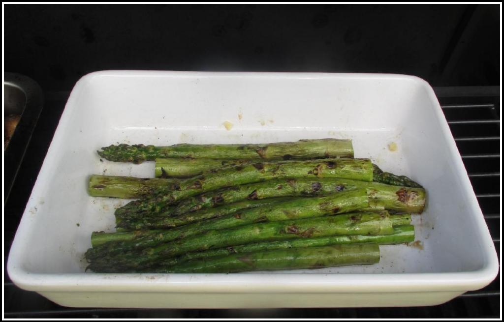 The Freshly Grilled Asparagus