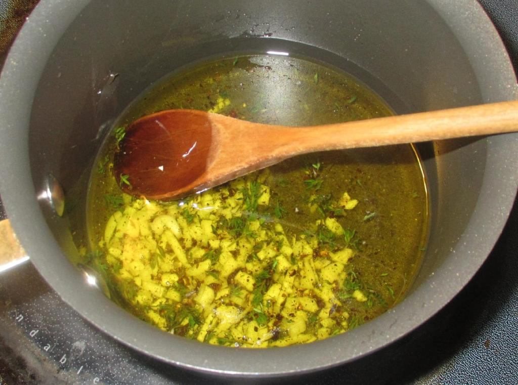 Cooking the Marinade