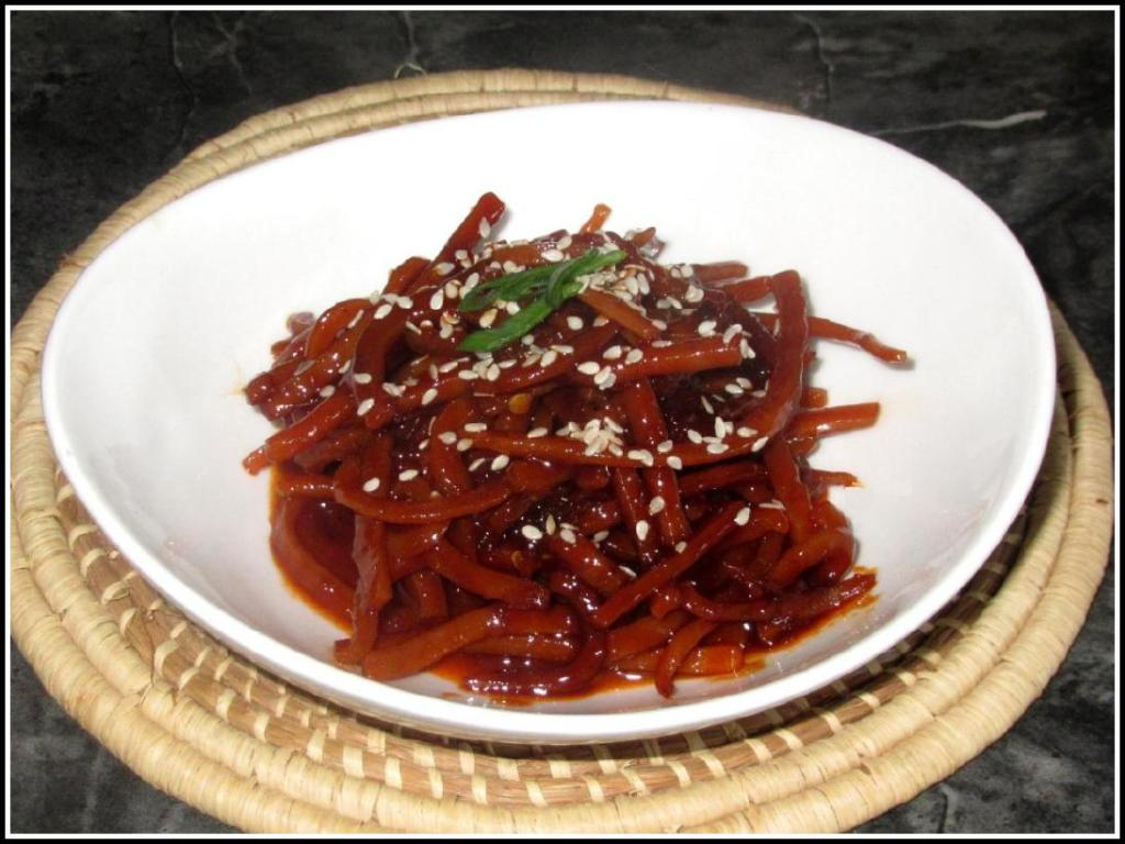 Spicy Dried Squid Banchan