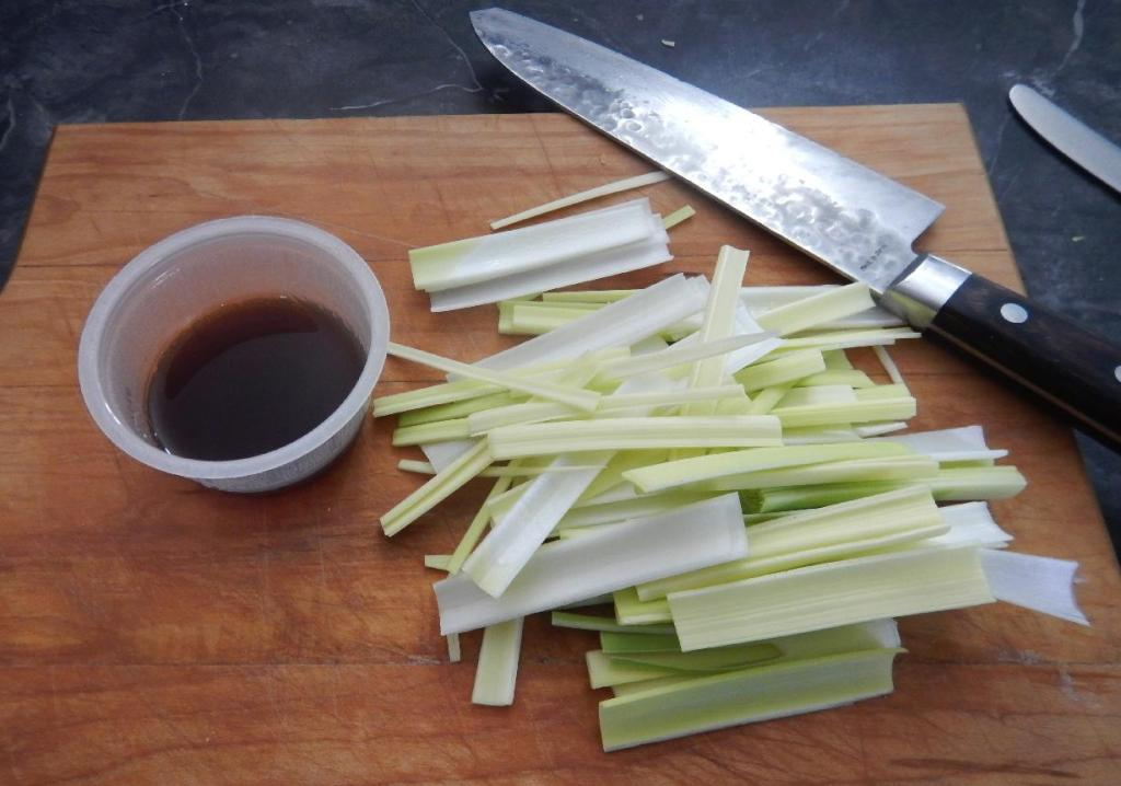 The Leek and the Sauce Mix