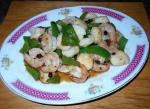Black Bean Scallop and Shrimp