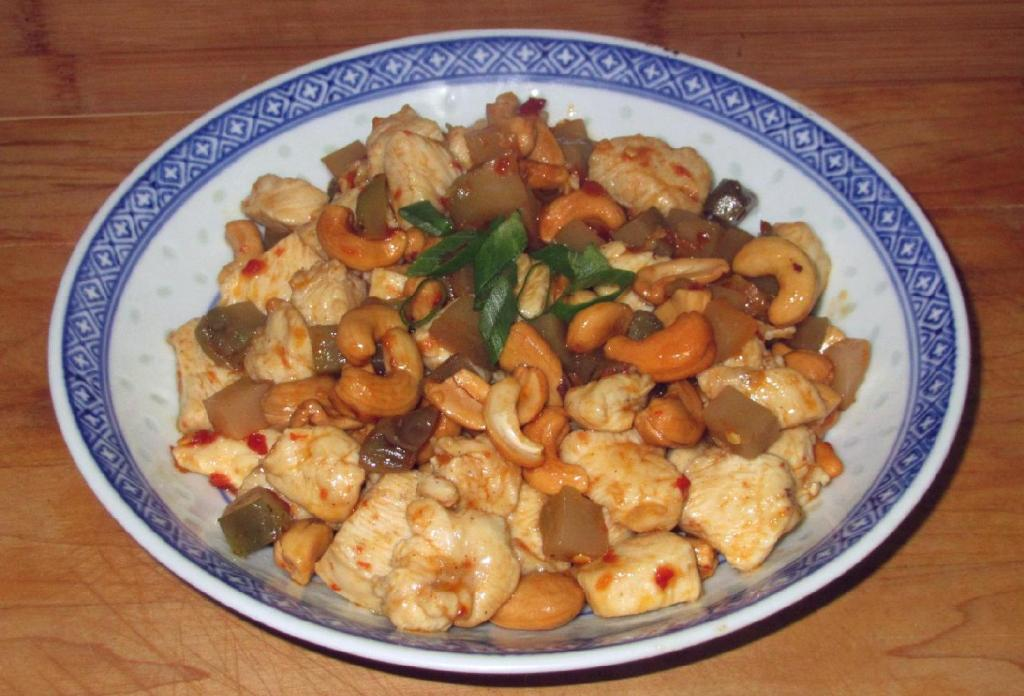 Chicken with Sichuan Preserved Vegetable