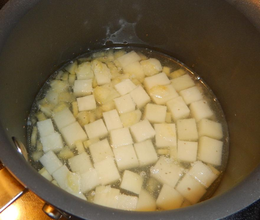 Parboiling the Potatoes