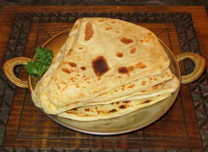 Simple Parathas