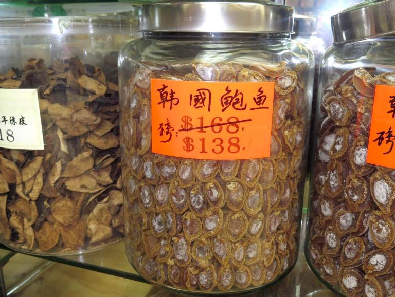 A Jar of Abalone at $140 a Pound