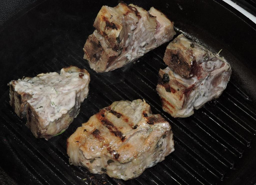 Grilling the Chops