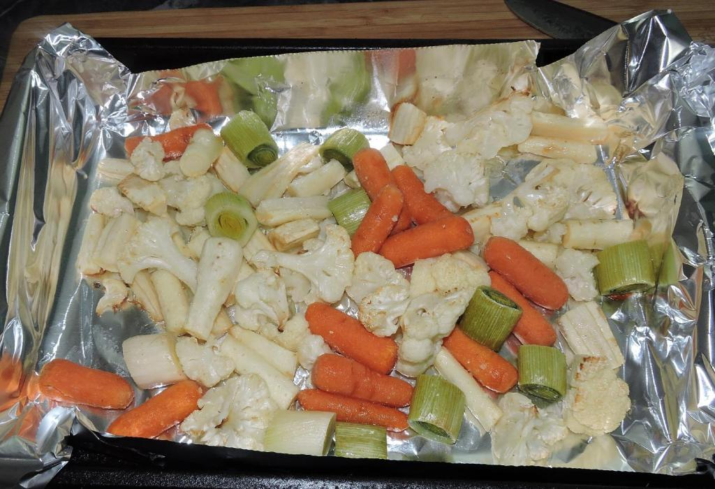 The Roasted Vegetables.