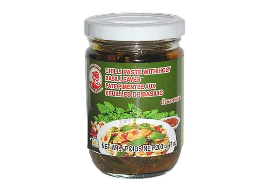 Cock Brand Chili Paste with Holy Basil