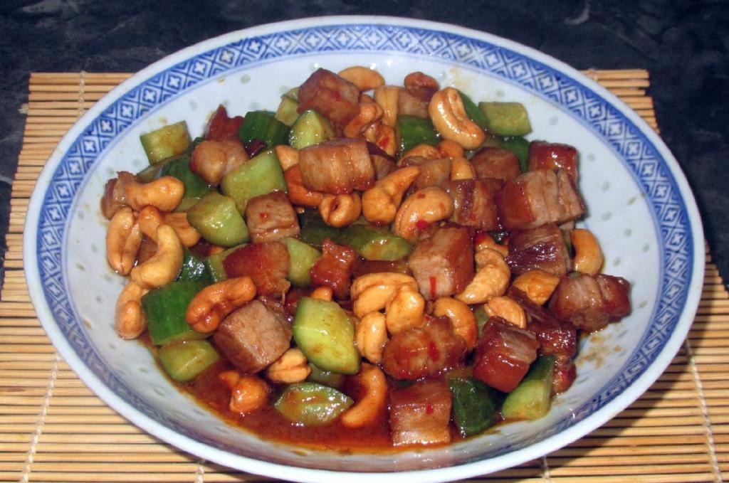Spicy Pork with Cashews