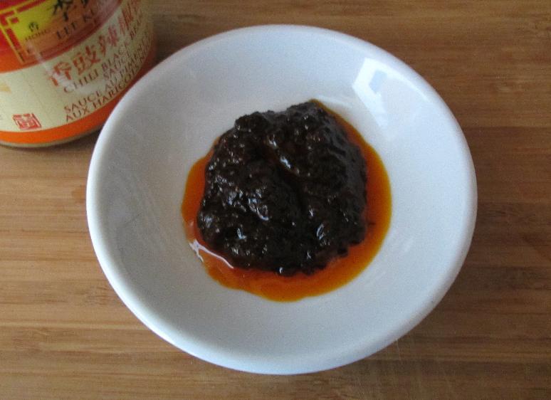 LKK Chili Black Bean Sauce in Closeup